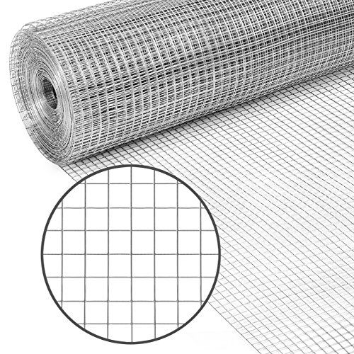Best Choice Products Multipurpose 3x50 Foot Double Zinc 19 Gauge Galvanized Chicken Cage Wire Fence Netting For Pou Wire Mesh Fence Mesh Fencing Hardware Cloth