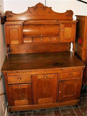 Antique Pine Kitchen Cabinet Hand Made Around 1860 2650 Love This Piece Antiques