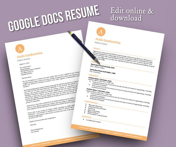 Create an Eye-Catching Resume in Google Docs Job Search - resume google docs
