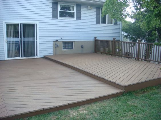 ... Installing Trex Decking Over Concrete By Ideas For Deck Over Concrete  Patio And Beyond Pics 302 ...