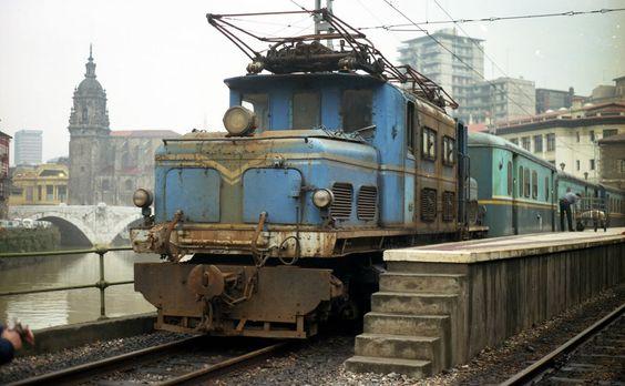 euskotren locomotora electrica Brown Boveri
