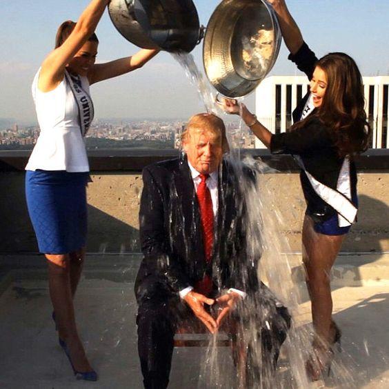 アイスバケツチャレンジ トランプ大統領