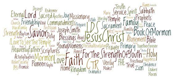LDS Word Art