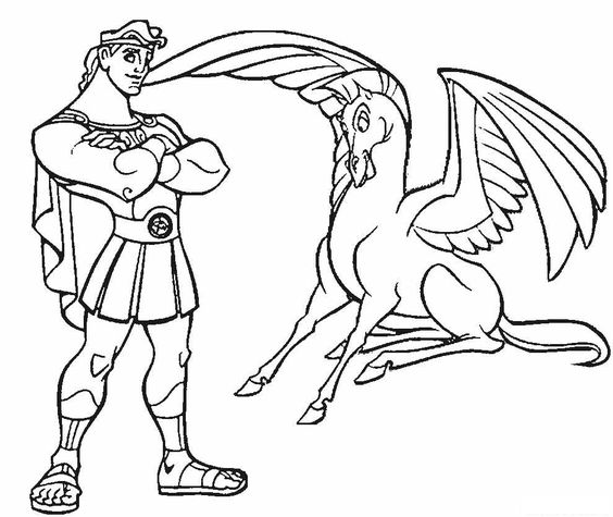 hercules coloring pages for boys coloring pages for toddlers