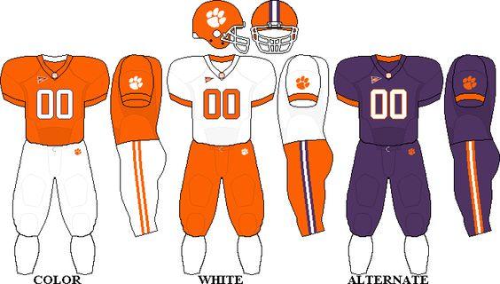 Clemson Uniform