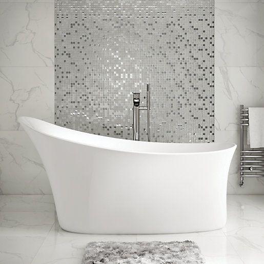 Design Your Bathroom With Freestanding Bath Small Bathroom Standing Bath Modern Bathtub