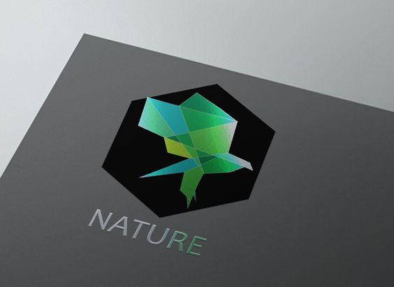 Logo NATURE by ssoodrou, via Behance