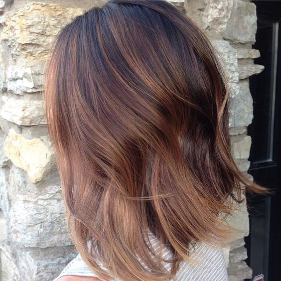 cocoa chestnut blend #behindthechair #color #haircolor #babylights #balayage #salon #wellaeducation #paintedhair #hair #haircut #painted #highlights #lowlights #beautiful #healthyhair #depth #blend #cut #colorist #hairstylist #hairbend #curls #trend #beauty #balayagebadass #mplshair #wellahair #mpls #modernsalon @behindthechair_com @mastersofbalayage