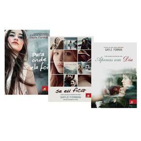 Coleção Se Eu Ficar + Para Onde Ela Foi + Apenas um Dia (3 volumes) - Romance no Extra.com.br