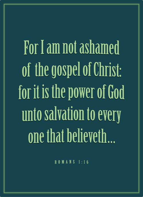 For I Am Not Ashamed #LDS
