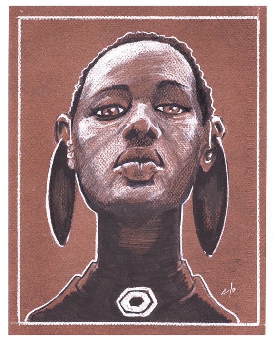 Fulani Girl #Markers #Drawing #TraditionalArt #Illustration #Pencils #DigitalColors #Fanart #Cartoon #PinUps #Anatomy #Perspective #VisualArts #Poses #Sketches #Charcoal