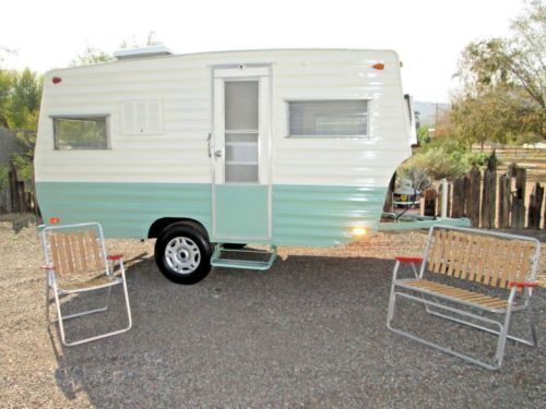 1969 Cavalier 16 Foot Vintage Trailer Camper Vintage Travel