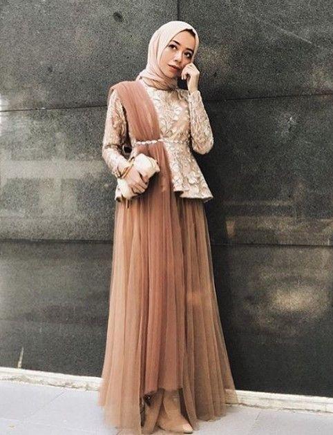 Model Baju Gamis Pesta Mewah