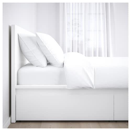 Askvoll Bedframe Wit Ikea Twin Bed Frame Bed Frame Malm Bed Frame