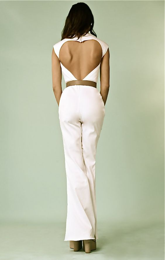 Open Back Sweetheart Jumpsuit - Gorgeous!