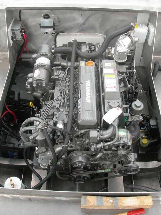 Yanmar 4lha 240 hp engine visit us at for Diesel marine motors for sale