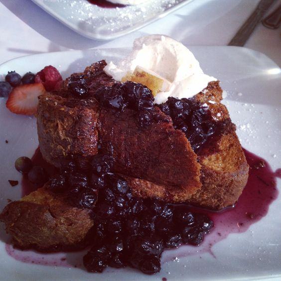 Brioche french toast from Europane in Pasadena, CA. Great dish if you ...