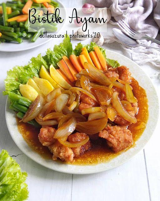 Resep Bistik Ayam Super Lezat Anak Anak Sukak Banget Resep Spesial Di 2020 Resep Masakan Resep Makanan Asia Resep Masakan Sehat