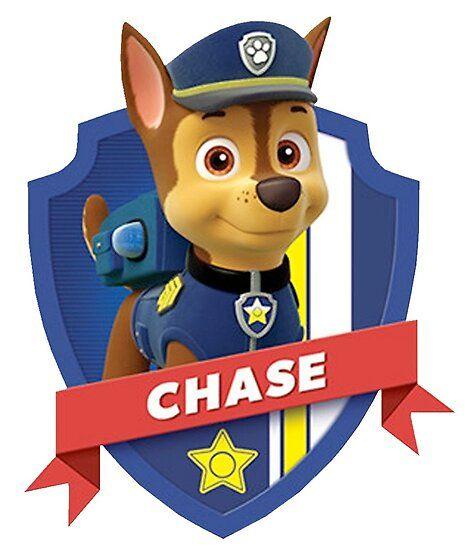 Chase Poster By Davidmm99 Paw Patrol Birthday Paw Patrol Badge Chase Paw Patrol