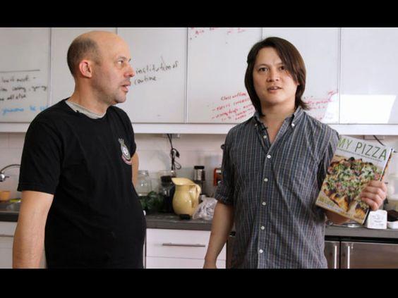Video--Jim Lahey No Knead Pizza dough