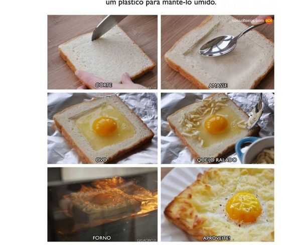 Pão co ovo