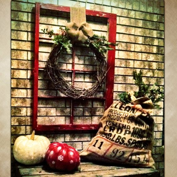 Christmas on the porch!