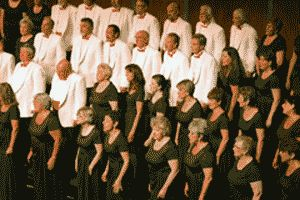 Placer Pops Chorale -- community chorus, performs twice a year. Rehearses Tuesday nights. Bare minimum sort of audition required.