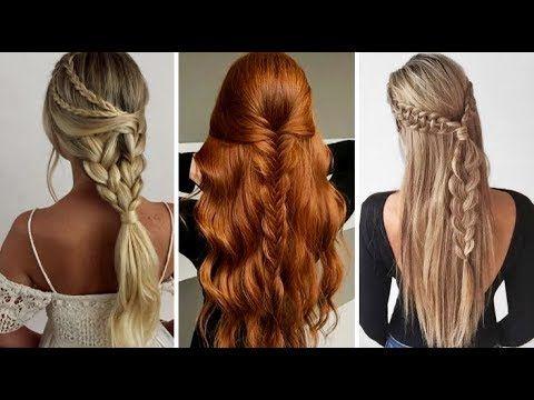 Peinados Faciles Y Rapidos De Hacer Cute Hairstyles Youtube Hair Beauty Cute Hairstyles Hair Styles