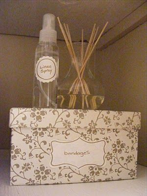 Keep the linen closet smelling good