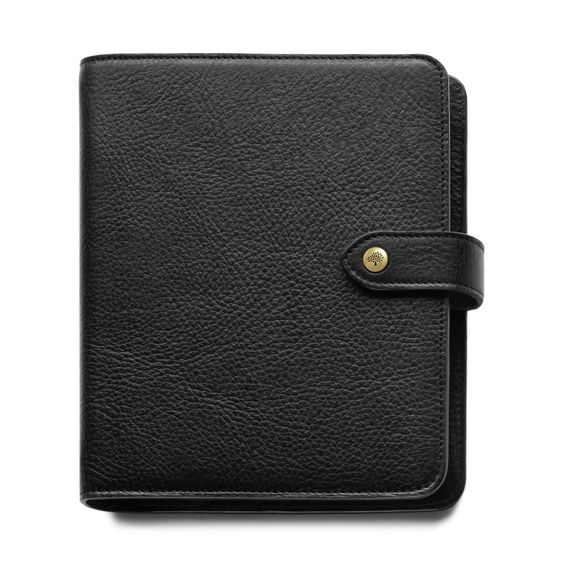Mulberry - Agenda in Black Natural Leather