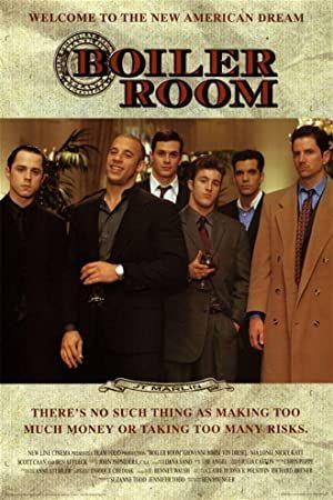 Boiler Room 2000 Dual Audio Hindi English 480p 720p Movie Posters Minimalist Movie Posters Movies