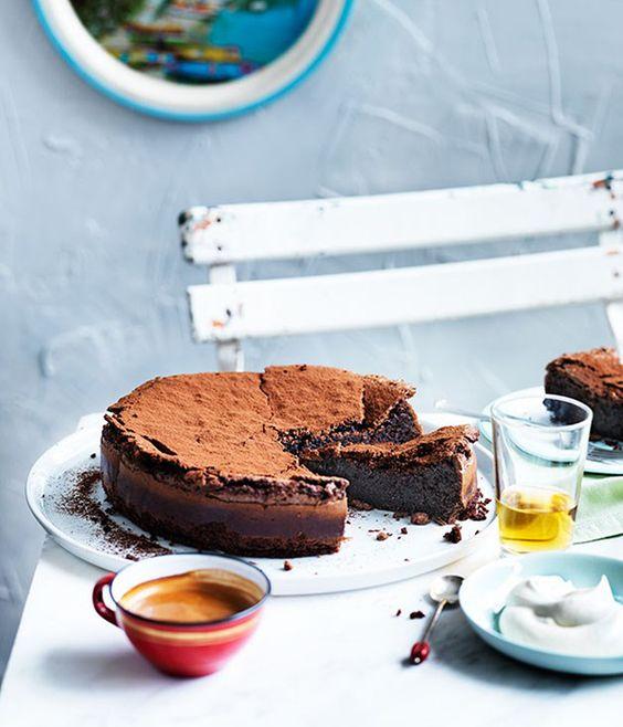 ELLE Recipes: Torta Caprese : Elle