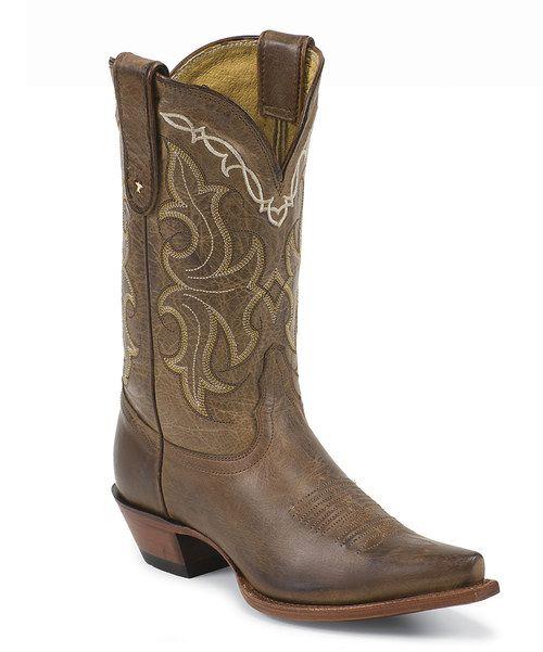 Look what I found on #zulily! Tony Lama Honey Saguaro Leather Cowboy Boot by Tony Lama #zulilyfinds