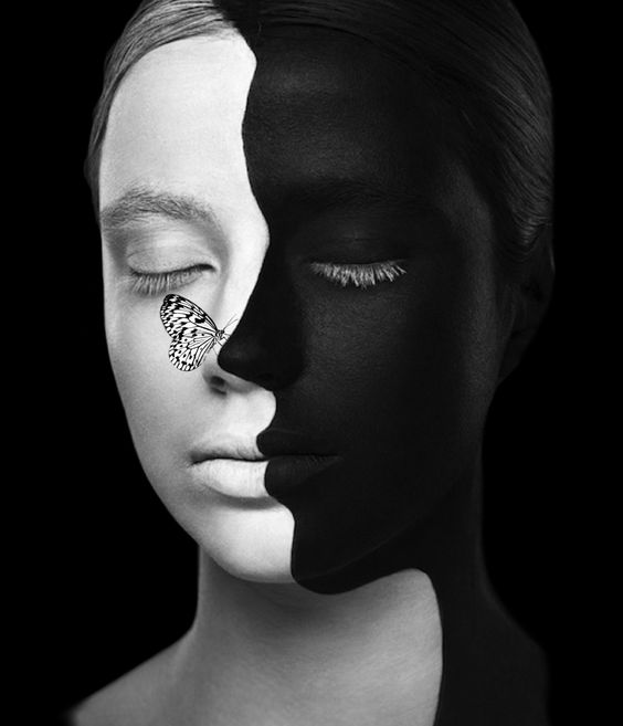 Black & white..!! - hecho por Haydee Bella Bella con Bazaart #collage