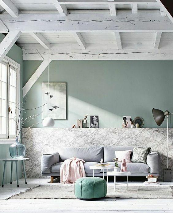 Adopter la couleur pastel pour la maison pinterest for Comment nettoyer du marbre blanc