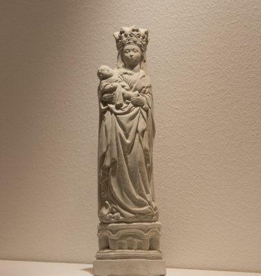 Madonna med krona gjutform latexform