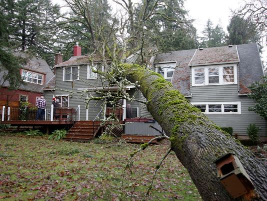 Salem avoids the worst storm weather, but not all escape