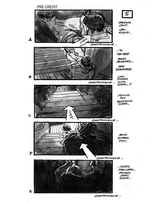 ... Martin Asubry Storyboards   Skyfall Layout\/Animatic\/Storyboards   Visual  Storyboards ...