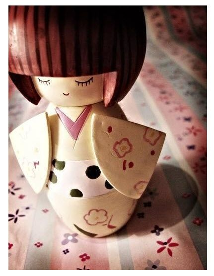 Kokeshi doll.