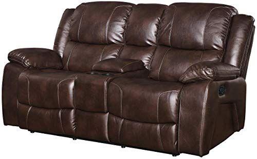 New Ncf Furniture Kane Dual Power Motion Recliner Loveseat In Premier Brown Living Room Furniture 1200 19 Topfurniturestore Love Seat Recliner Furniture