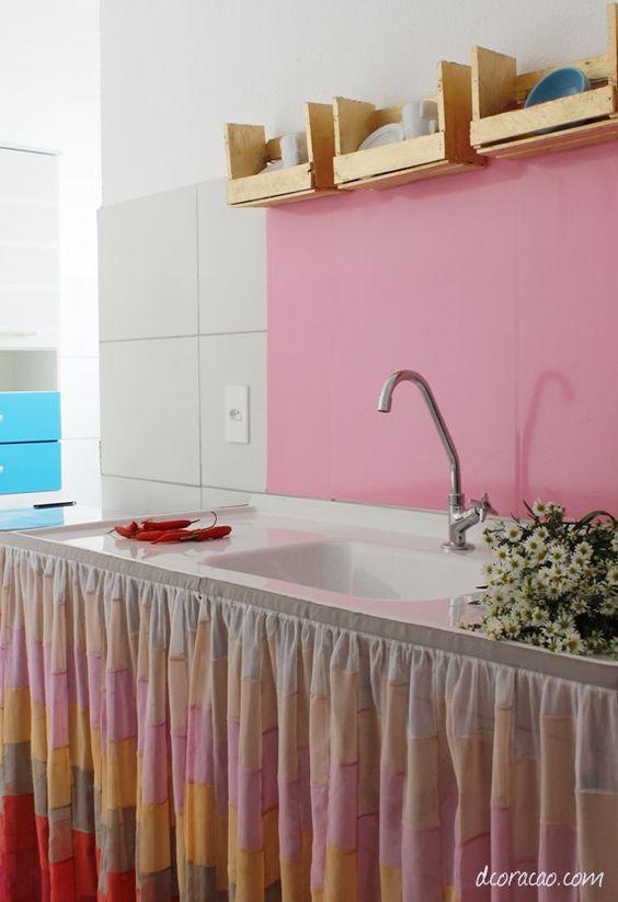 dcoracao.com - blog de decoração: Caixa de fruta vira estante: