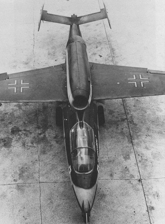 Heinkel He-162. The best of the late war German jet aircraft.