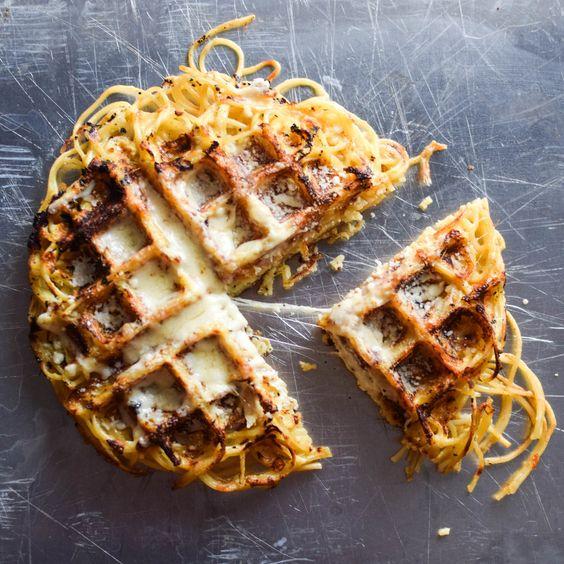 Smitten Kitchen Waffles: Waffle Iron, Spaghetti Pie And