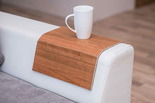 Wood Sofa Arm Tray Protectors Armrest Table Sofa Table Coaster Sofa Tray Tv Tray Wenge Wood Sofa Sofa Arm Table Wooden Accessories
