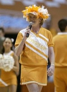 Pat Summitt - greatest coach on the PLANET!