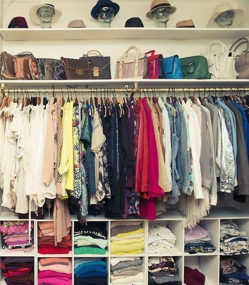 20 Stunning Closet Ideas Interiorforlife.com Bright Closet