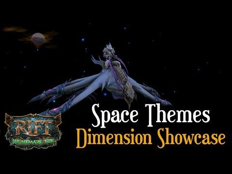 Space Themed RIFT Dimension Showcase - Player Housing - YouTube