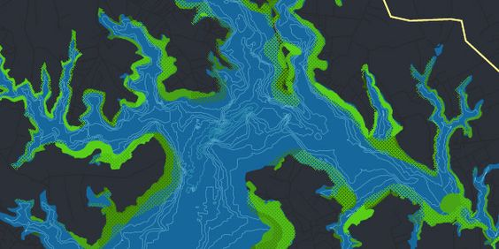 Chesapeake Bay Grasses [chesapeakebay.net], designed by Stamen Design is an interactive map that tracks a quite exotic subject: the changes of the underwater grasses at Chesapeake Bay, the largest estuary in the United States. Accordingly, the map reveals how the fluctuations in water temperature, salinity and turbidity correlate to grass abundance, as dominant species ebb and flow and grass beds shrink and expand over a period of 30 years.