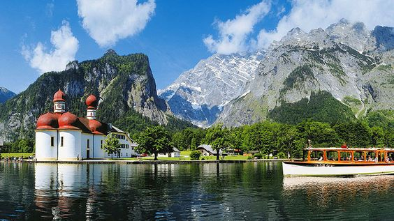 Lago Köenigsee, Bavaria, Alemania