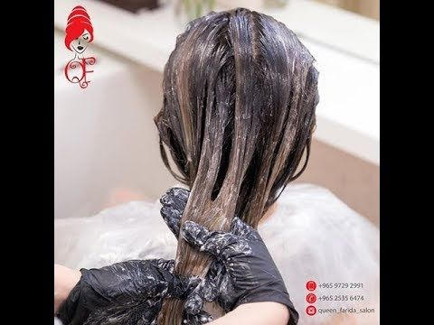 طريقه تنظيف لون شعر وطريقه صبغه اللوان درجات سلفر والرنساج تدريب طالبه انوار من الكويت Youtube Hair Styles Hair Beauty